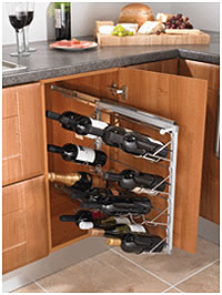 Pull-out Wine Rack